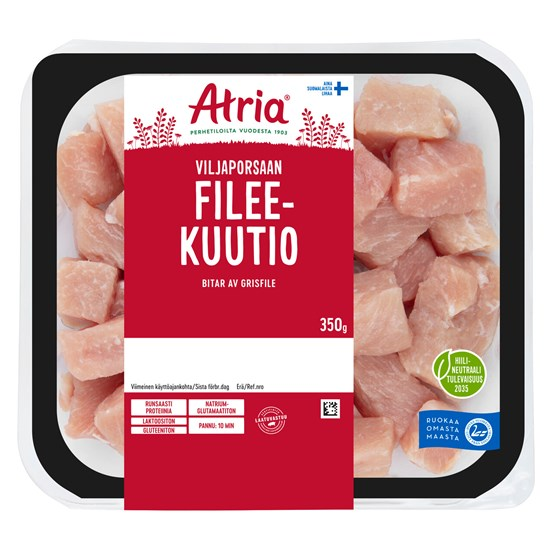 Atria 350g Viljaporsaan fileekuutio