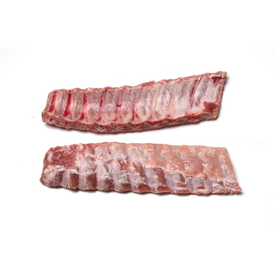 Atria Pork Loin Backribs 14-18DN Pork Backribs 14-18DN 395-510g, frozen