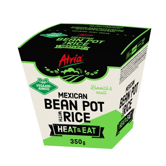 Atria 350g Heat & Eat Mexican Bean Pot with Rice