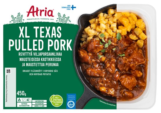 Atria 450g XL Texas Pulled Pork