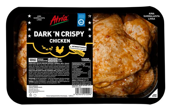 Atria 1000g Dark 'n Crispy Chicken