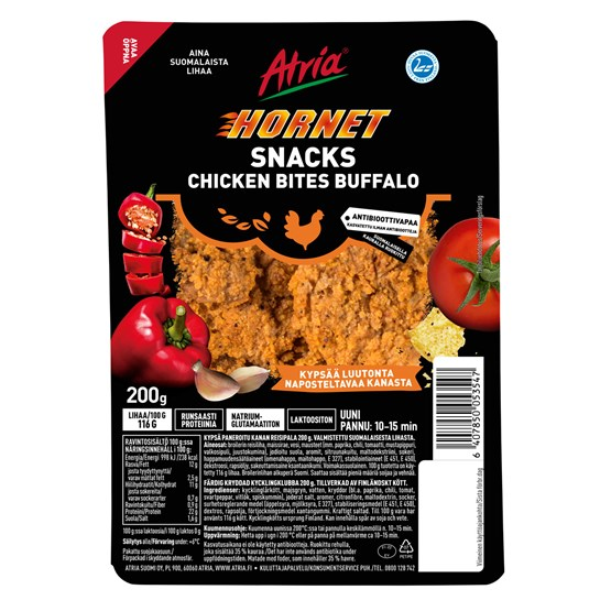 5354_Atria 200g Hornet Snacks Chicken Bites Buffalo