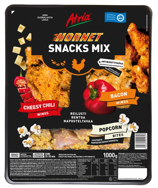 Atria 1000g Hornet Snacks Mix