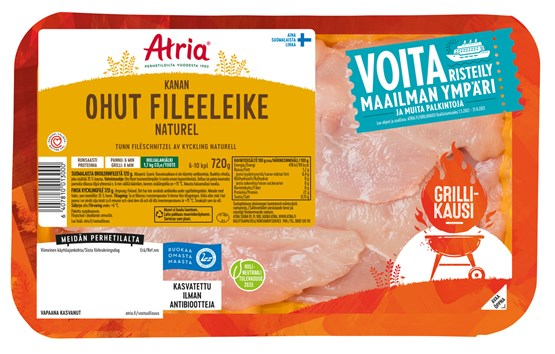 Atria Perhetilan 720g Kanan Ohut Fileeleike Naturell