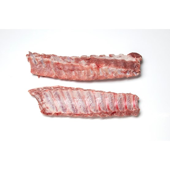Atria Pork Loin Backribs 18-20DN 511-569g frozen