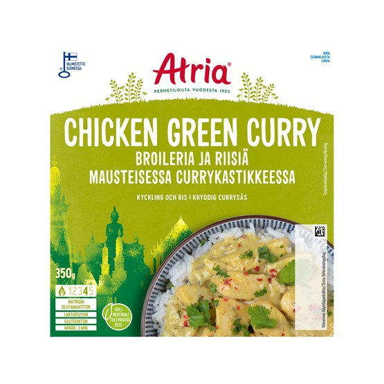 Atria 350g Chicken Green Curry