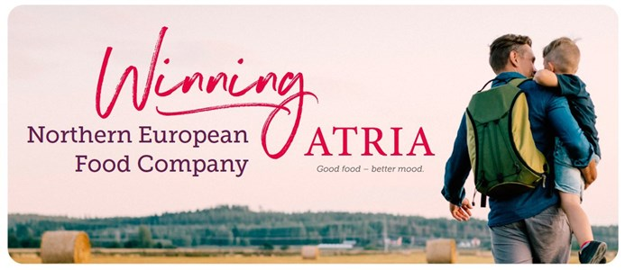 Atria renews its strategy and updates its financial targets: Atria is a Winning Northern European Food Company