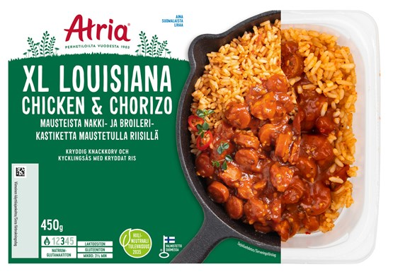 Atria 450g XL Louisiana Chicken & Chorizo