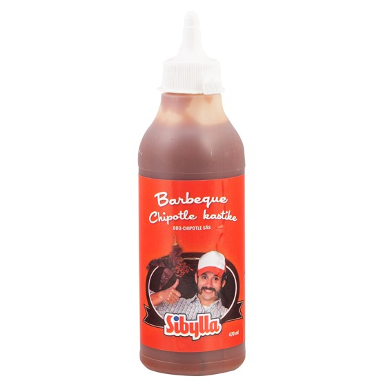 Sibylla Barbeque-Chipotle Kastike 6x470ml