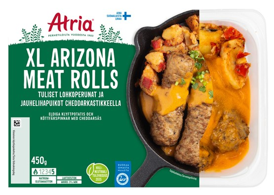 Atria 450g XL Arizona Meat Rolls