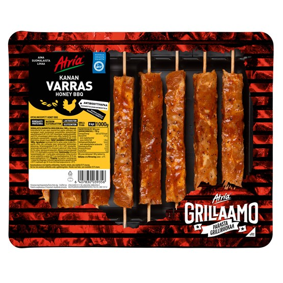 Atria 1000g Honey BBQ Kanan Varras