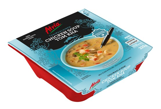Atria 320g Chicken Soup Tom Kha