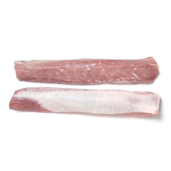 Atria c18kg Pork Striploin boneless without chain size L frozen