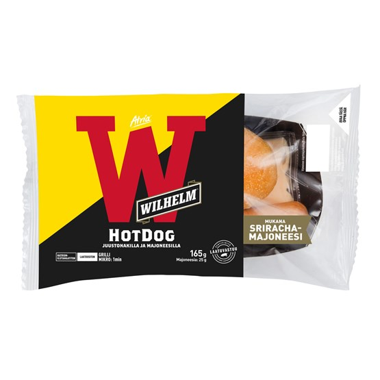Atria Wilhelm 165g Hot Dog