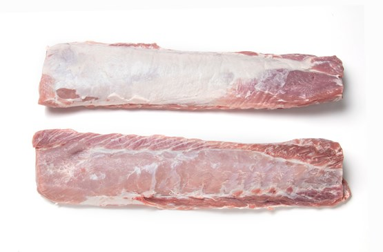 Atria approx20kg  Pork Loin with two chains boneless vac frozen