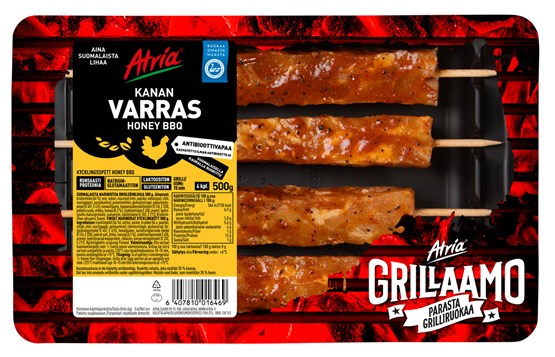 Atria 500g Honey BBQ Kanan Varras