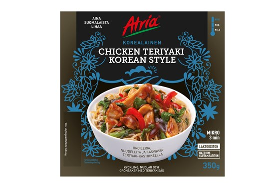 Atria 350g Chicken Teryaki Korean Style