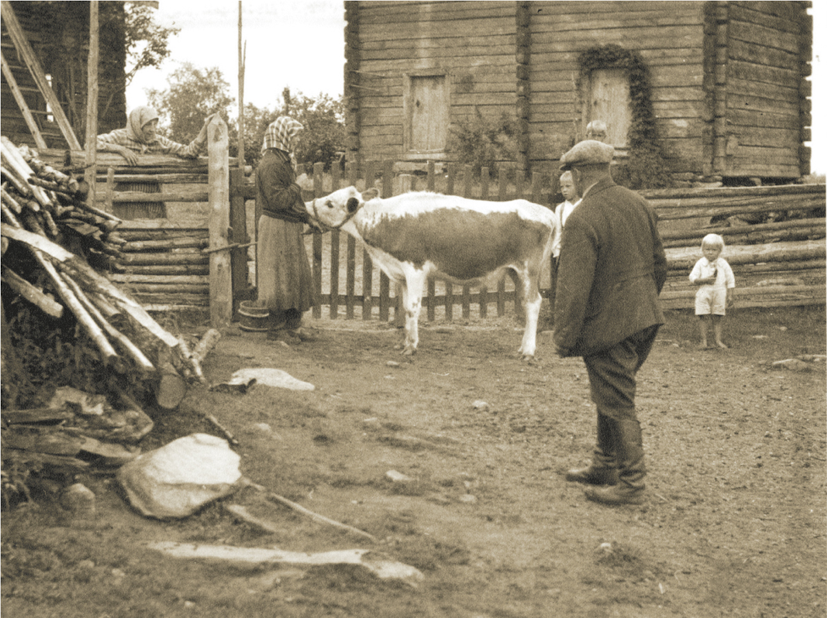 At the beginning of the 20th century, farmers lived in rather modest conditions. They had difficulty receiving a fair price for the animals that were sent to slaughter.