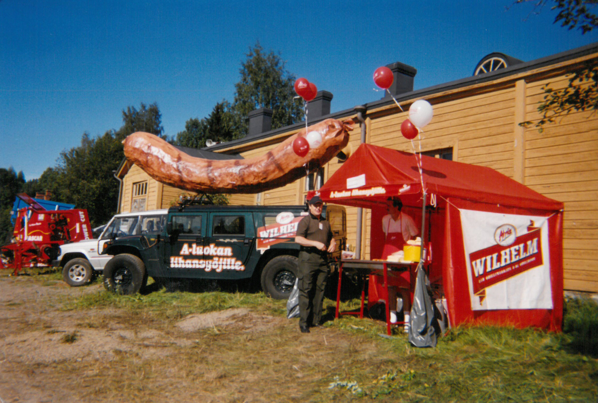 Atria's Wilhelmi was the king of sausages and it was a common sight in the 1980s.