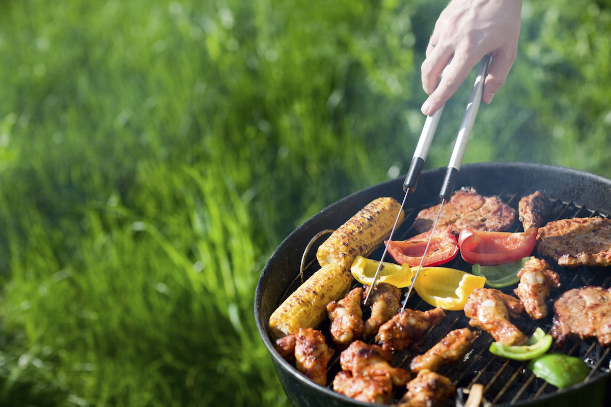 It is now summer. In the 1990s, barbecuing became a culinary treat for everyone in Finland.