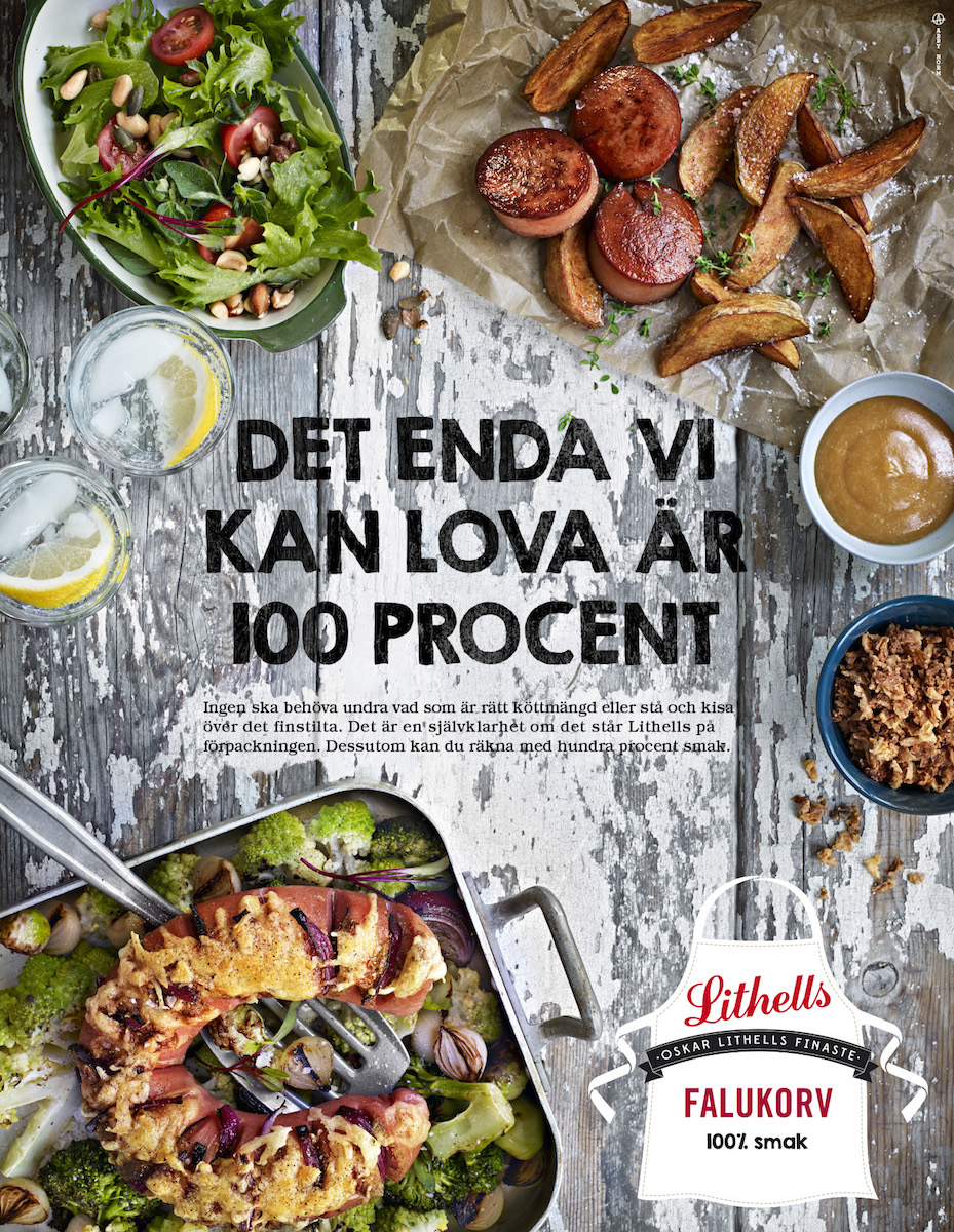 Lithells, now part of Atria Scandinavia, has remained a quality sausage brand in Sweden for over 110 years.