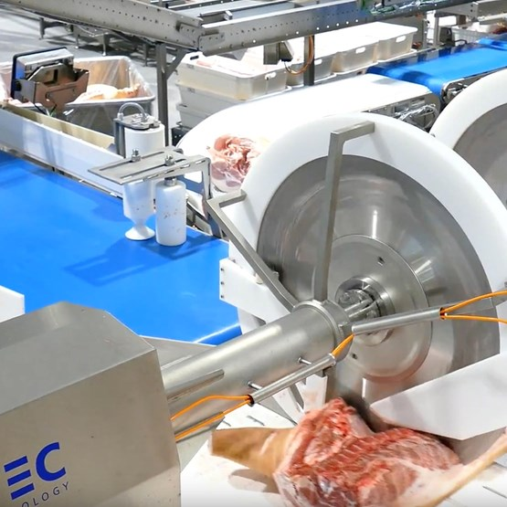 The first phase of commissioning the new pig cutting plant began